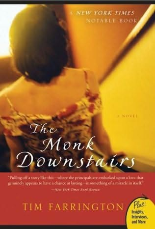 book cover of The Monk Downstairs