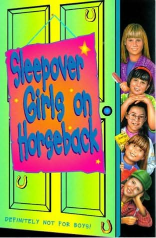 book cover of Sleepover Club On Horseback