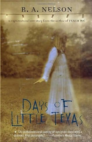 days of little texas bookjacket