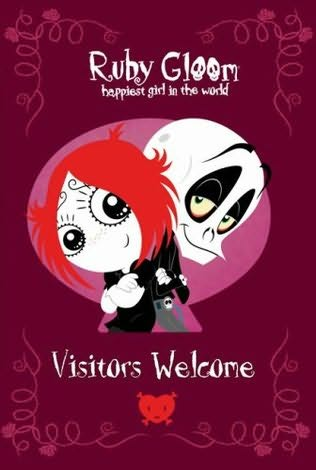 book cover of Visitors Welcome