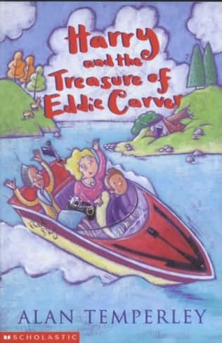 book cover of Harry & the Treasure of Eddie Carver