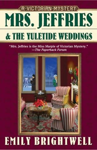 book cover of Mrs Jeffries and the Yuletide Weddings