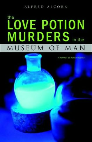 book cover of The Love Potion Murders in the Museum of Man