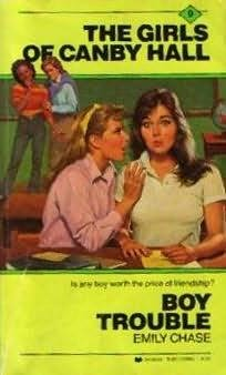 book cover of Boy Trouble