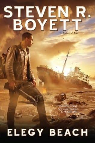 book cover of Elegy Beach