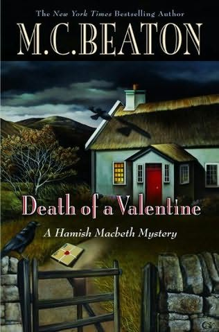 book cover of Death of a Valentine