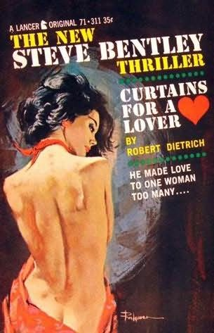 book cover of Curtains for a Lover