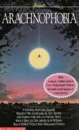 book cover of Arachnophobia