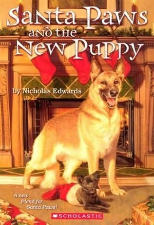 book cover of Santa Paws and the New Puppy