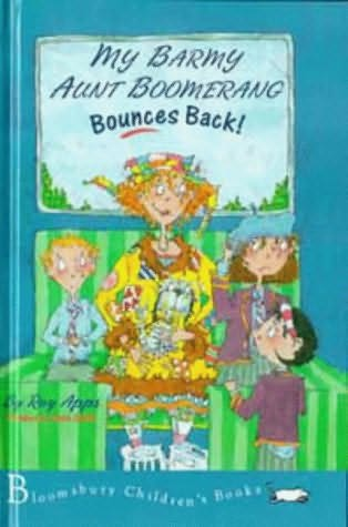 book cover of My Barmy Aunt Boomerang Bounces Back