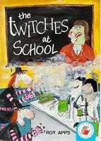 book cover of The Twitches At School