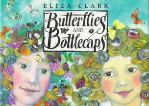 book cover of Butterflies and Bottlecaps