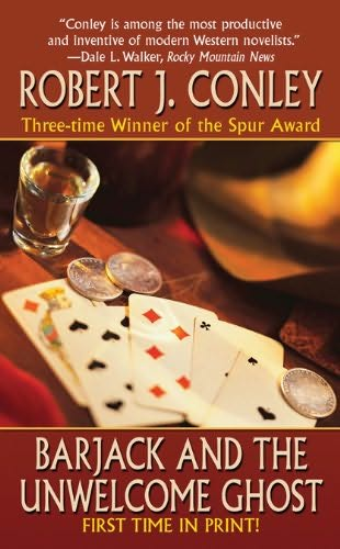 book cover of Barjack and the Unwelcome Ghost