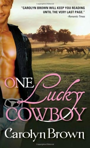 book cover of One Lucky Cowboy