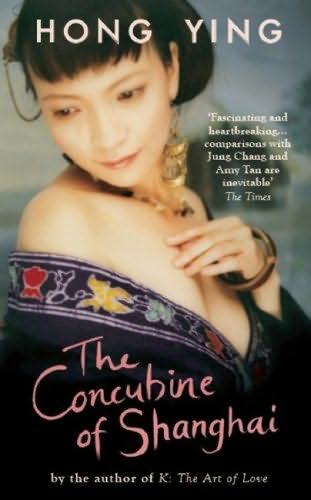 copertina del libro della concubina di Shanghai, da Hong Ying