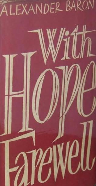 book cover of With Hope, Farewell