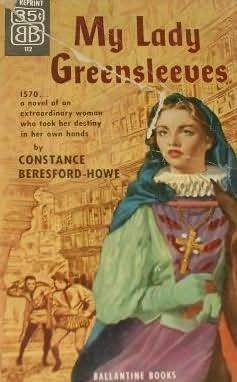 book cover of My Lady Greensleeves