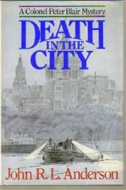 book cover of Death in the City