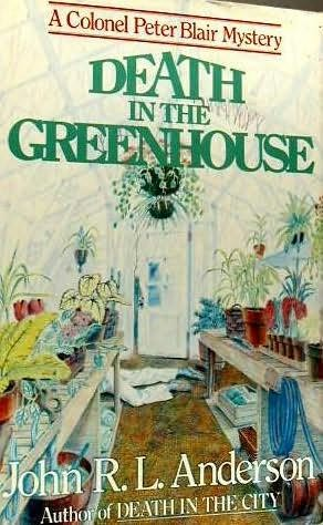 book cover of Death in the Greenhouse