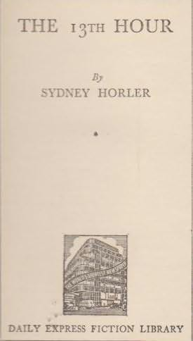 book cover of The 13th Hour