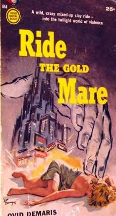 book cover of Ride The Gold Mare