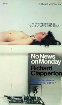 book cover of No News On Monday