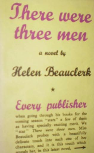 book cover of There Were Three Men