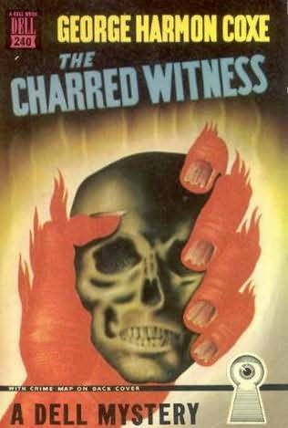 book cover of The Charred Witness