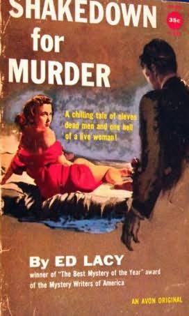 book cover of Shakedown for Murder