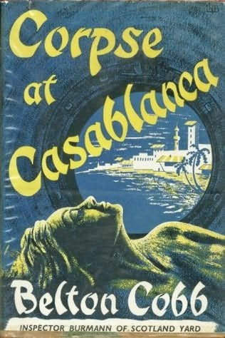 book cover of Corpse At Casablanca