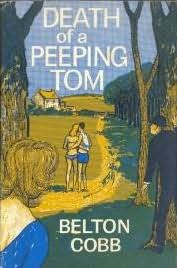 book cover of Death of a Peeping Tom
