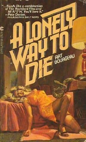 book cover of A Lonely Way to Die