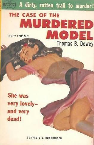 book cover of The Case of the Murdered Model