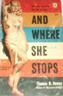 book cover of And Where She Stops