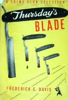 book cover of Thursday\'s Blade