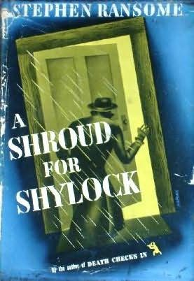 book cover of A Shroud for Shylock
