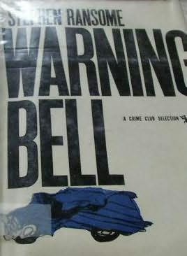 book cover of Warning Bell