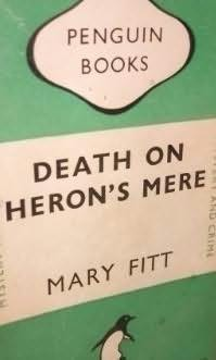 book cover of Death On Heron\'s Mere