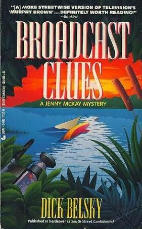 book cover of Broadcast Clues