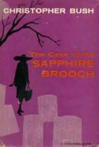 book cover of The Case of the Sapphire Brooch