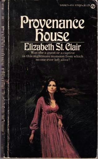 book cover of Provenance House