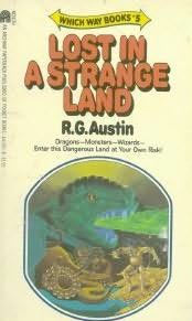 book cover of Lost in a Strange Land