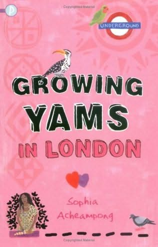 book cover of Growing Yams in London
