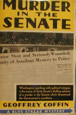 book cover of Murder in the Senate