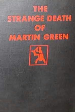 book cover of The Strange Death of Martin Green
