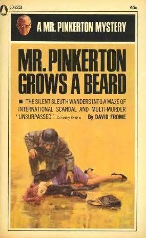 book cover of Mr. Pinkerton Grows a Beard