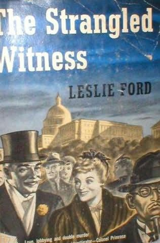 book cover of The Strangled Witness