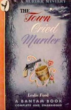 book cover of The Town Cried Murder