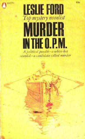 book cover of Murder in the O. P. M