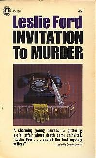 book cover of Invitation to Murder